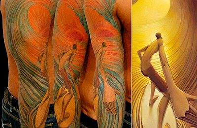 Surf Tatoo -