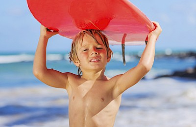 Going on a Surftrip with your toddlers ? -